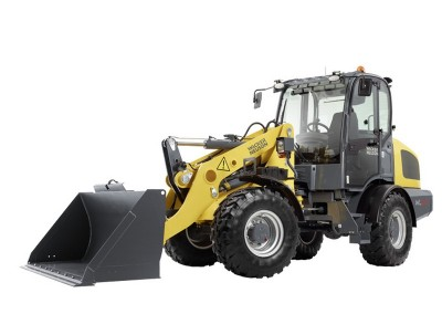 2yd Compact Articulating Wheel Loader